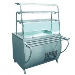 Прилавок  холодильный открытый,1120мм ПВВ(Н)-70Т-НШ 210000001426