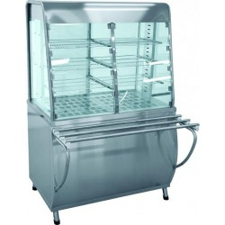 Прилавок-витрина тепловой закрытый ПВТ-70Т 220/380В, кВт, кг 210000801089