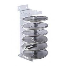 Настенный держатель дисков из поликарбоната 27019