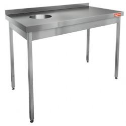 Стол для сбора отходов HiCold НДСО-12/6БП (БЛ)
