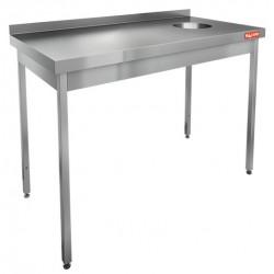 Стол для сбора отходов HiCold НДСО-13/6БП (БЛ)