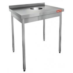 Стол для сбора отходов HiCold НДСО-7/6Б