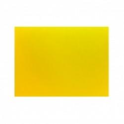 Доска разделочная 400х300х12 желтая полипропилен