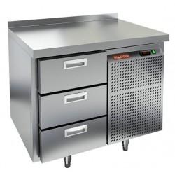 Морозильный стол HiCold GN 3/BT