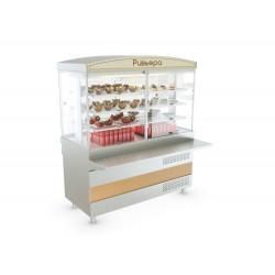 Витрина холодильная АТЕСИ Ривьера - холодильная витрина (1500мм)
