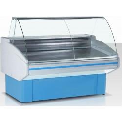 Витрина морозильная Гольфстрим Двина-120ВН-0,24-0,9-1-4Х голуб.