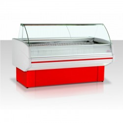 Витрина морозильная Гольфстрим Двина-180ВН-0,36-1,35-1-4Х красн.