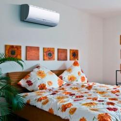 Место установки кондиционера в спальне