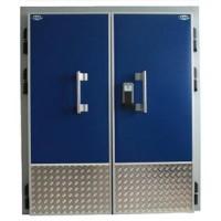 Распашная двустворчатая холодильная дверь РДД 1800*2200*80