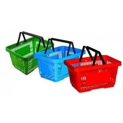 Корзинка покупательская пластиковая