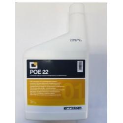 Масло синтетическое POE 22 1л Errecom OL6011.K.P2