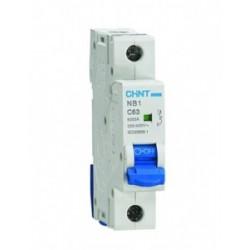Автомат выключатель NB1-63 3P  40A 6кА характеристика C CHINT