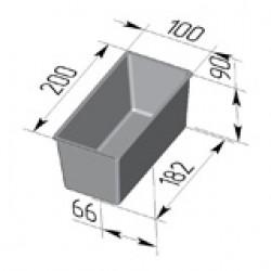 Форма для хлеба Тостерная 200х100х90