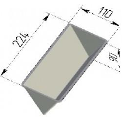 Форма для хлеба Треугольная 224х110х90