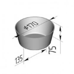 Хлебная форма круглая 1ДМз