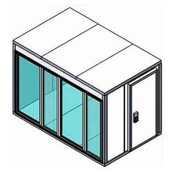 Камера холодильная Polair Professionale со стеклом