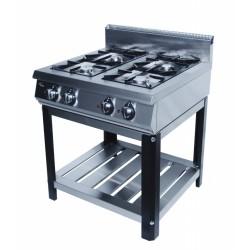 Плита газовая 4-х горелочная Grill Master Ф4ПГ/800 (на подставке)