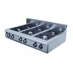 Плита газовая 6-х горелочная настольная Grill Master Ф6ПГ/800