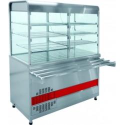 Прилавок-витрина холодильный ПВВ(Н)-70КМ-С-01-ОК с охлаждаемой камерой