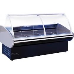 Витрина холодильная Cryspi Magnum 2500 Д с боковинами