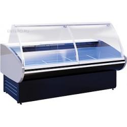 Витрина холодильная Cryspi Magnum Eco SN 2500 Д с боковинами