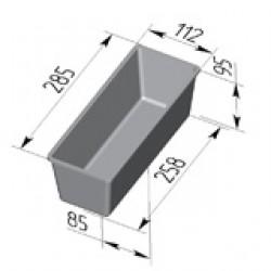 Форма для хлеба Тостерная 285х112х95
