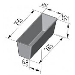 Форма для хлеба Тостерная 290х95х95