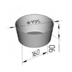 Хлебная форма круглая 2ДМз