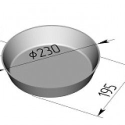 Хлебная форма круглая Л17г