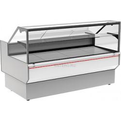 Витрина холодильная Carboma ВХС-1,5 CG95 INOX (статика)