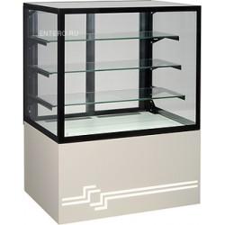 Витрина кондитерская UNIS Cube II 1000 серая