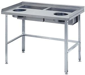 столы для дочистки картофеля и овощей