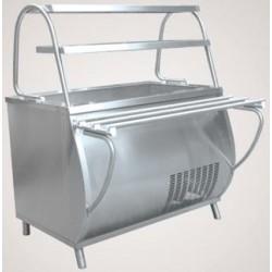 Прилавок холодильный  ПВВ(Н)-70 М-НШ вся нерж. 210000001327