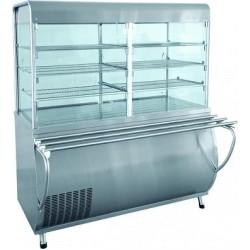 Прилавок-витрина холодильный ПВВ(Н)-70 М-С-ОК вся нерж. 210000805623