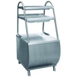Прилавок стол. приборов ПСПХ-70М с хлебницей арт.210000801112