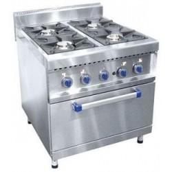Плита газовая 4-х горелочная ПГК-49-ЖШ с  газовой духовкой  210000801314