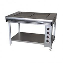 Плита электрическая без жарочного шкафа, 4 конф. ПЭ-0,48 С НЕРЖ.