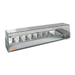 Холодильная витрина HiCold VRTG 4R к PZ4 (со стеклом)