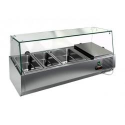 Холодильная витрина  HiCold VRTG к PZE3 (со стеклом)