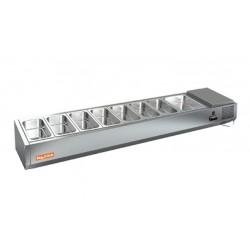 Холодильная витрина HiCold VRTO 4 к PZ3 (без крышки и стекла)