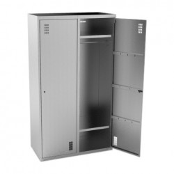 Шкаф кухонный для одежды Кобор ШК-100/50