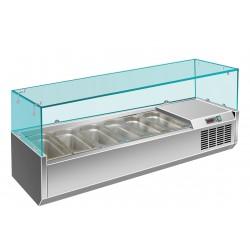 Витрина холодильная VIATTO VRX 1500/330
