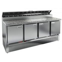 Стол для пиццы HiCold PZE2-1111/GN (1/6H)