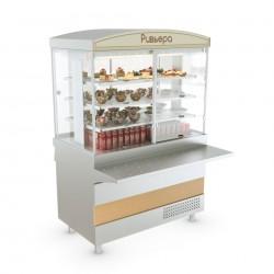 Витрина холодильная АТЕСИ Ривьера - холодильная витрина (1200мм)