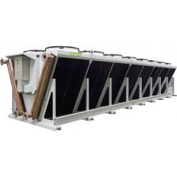 Воздушные конденсаторы с осевыми вентиляторами или с ЕС-вентиляторами (V-образные) LUE-JK