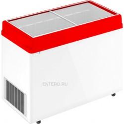 Ларь морозильный Frostor F 400 C красный