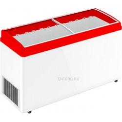 Ларь морозильный Frostor F 600 E красный
