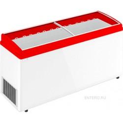 Ларь морозильный Frostor F 700 E красный