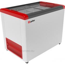Ларь морозильный Frostor GELLAR FG 350 C красный