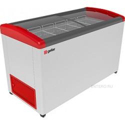 Ларь морозильный Frostor GELLAR FG 500 E красный